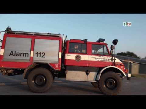 Frivillige brandværn i Sønderjylland