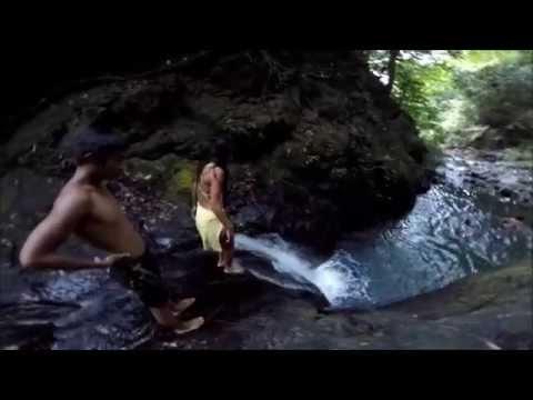 Cawayan Falls in Infanta, Quezon