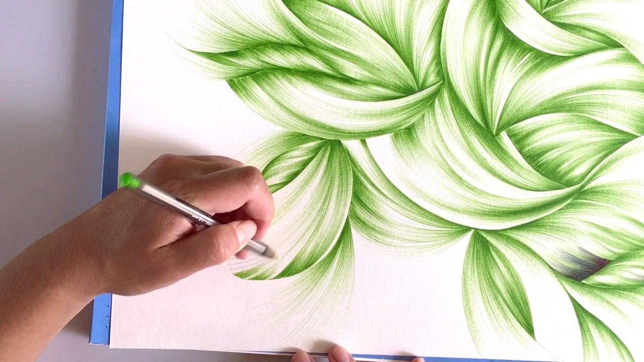 Ballpoint Pen Abstract Art