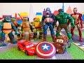 Тачки Маквин Мэтр и щит Капитана Америка Мстители McQueen Cars Avengers mp3
