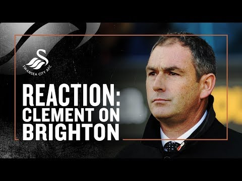 Reaction: Paul Clement Press Conference | Swansea v Brighton