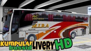Kumpulan Livery keren HD bussid