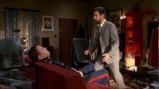 Chuck S04E05 | Morgan trying to wake Casey up [Full HD]