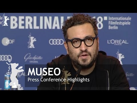 Museo | Press Conference | Berlinale 2018