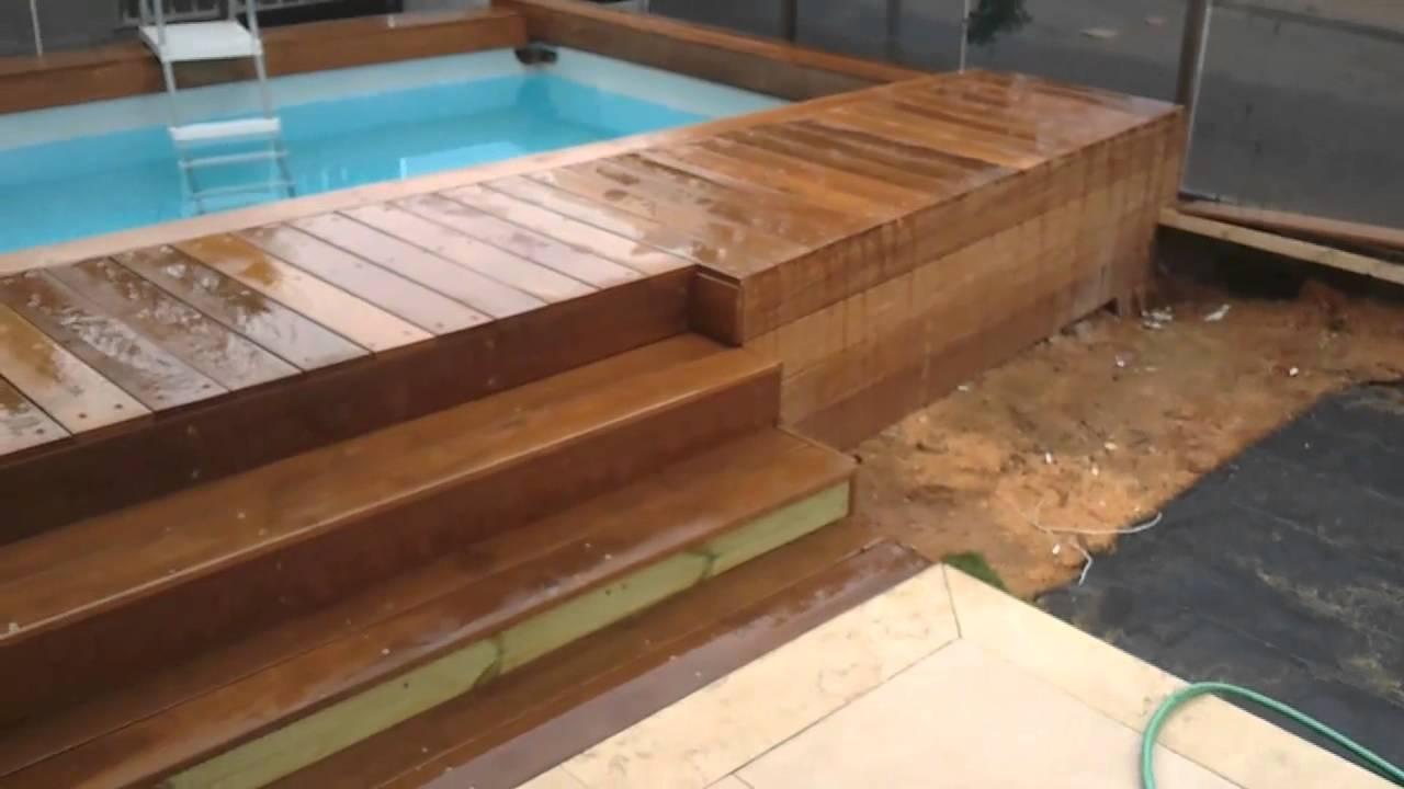 how to make a swimming pool aj