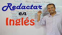 Cómo Aprender REDACCION EN INGLES