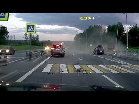 Rosja kompilacja wypadki samochodowe Ruskie drogi Takie rzeczy tylko w rosji Blać