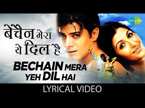 Bechain Mera Yeh Dil Hai with lyrics | बेचैन मेरा यह दिल है के बोल | Yeh Mohabbat Hai | Rahul Bhatt