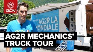 AG2R La Mondiale Mechanics' Truck Tour | Tour de France 2018