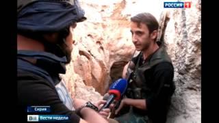 карта боевых действий и репортаж из Сирии