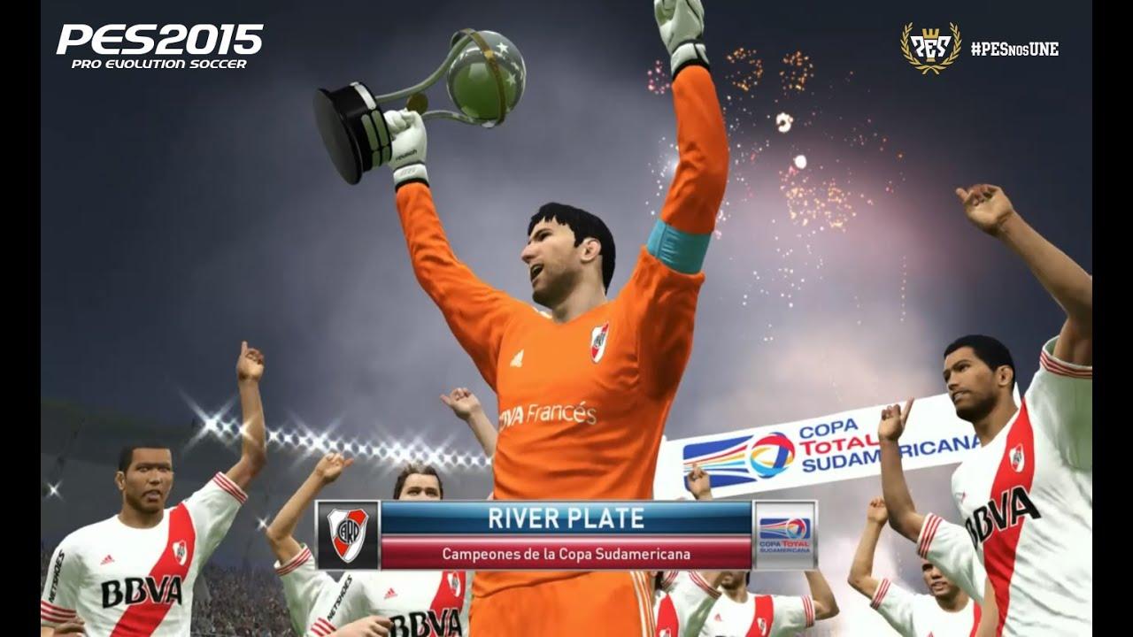 River Plate Campeón Copa Sudamericana PES2015