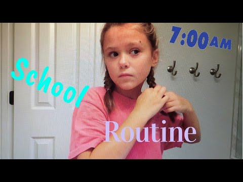 School Morning Routine☀️📓| Angelina Drake