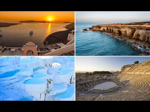 8 must-see sights of the eastern Med! সান্তোরিনি সূর্যাস্ত, সমুদ্রের গুহাসহ ৮ দর্শনীয় স্থান!!