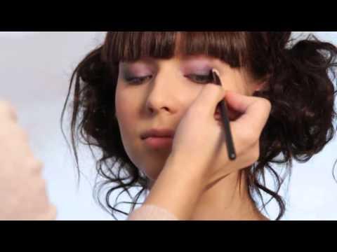 Как сделать Легкий свадебный макияж - Игра цвета - коллекция Deborah