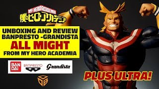 All Might - Banpresto - Grandista - from My Hero Academia