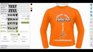 Custom Tee Shirt Designing Software and Application Tool, Creator or Maker by CBSAlliance.com