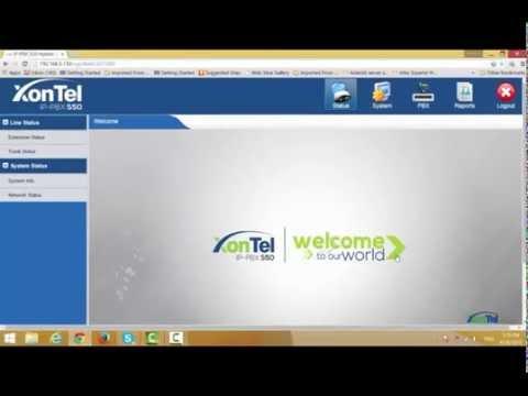 XonTel IP-PBX S200 & S50 Caller ID Setting _زونتل
