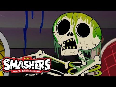 SMASHERS | SKELETON SURPRISE | MASH-UP Compilation | Cartoons For Children