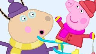 Peppa Pig en Español Episodios completos ❄️ El paseo divertido de Peppa ❄️ Pepa la cerdita