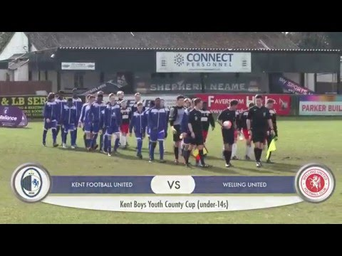 Kent Reliance Under 14 Boys Youth Cup Final 2016 - Match Highlights
