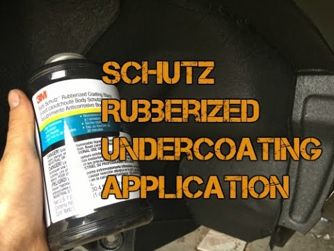 Applying Schutz Rubberized Undercoating by 3M Over Cured POR-15 S2E12