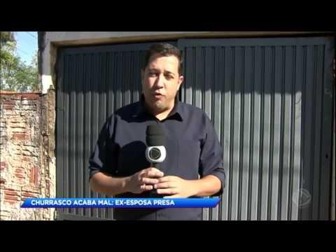 Homem é assassinado pela ex-mulher após briga em churrasco no interior de SP