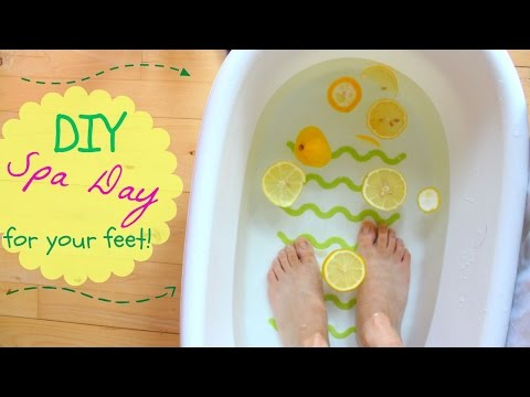 DIY Spa day for your feet
