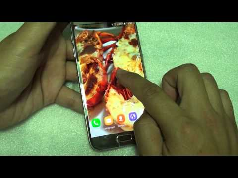 Samsung Galaxy S7: How to Change Lock Screen Background Wallpaper