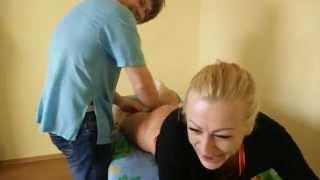 ЭКСПЕРИМЕНТ- как можно убрать бедра - массаж