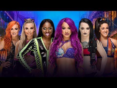 WrestleMania 34 The first-ever WrestleMania Women's Battle Royal Match [FR]