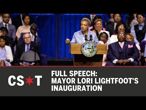 FULL SPEECH: Mayor Lori Lightfoot's inauguration