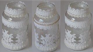 Aprenda Reciclar Pote de Vidro – Decoração Para Casamento