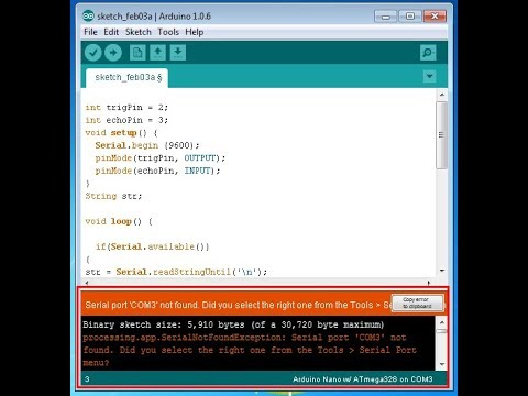 problem solved arduino serial COM port not detected in linux
