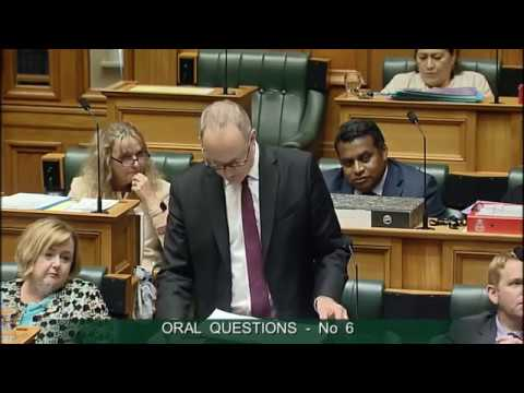 Question 6 - Hon Judith Collins to the Minister of Housing and Urban Development