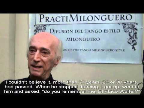 PractiMilonguero presents Walter Domínguez