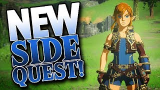 NEW Breath of the Wild Sidequest in TWO DAYS! (Xenoblade 2 crossover)