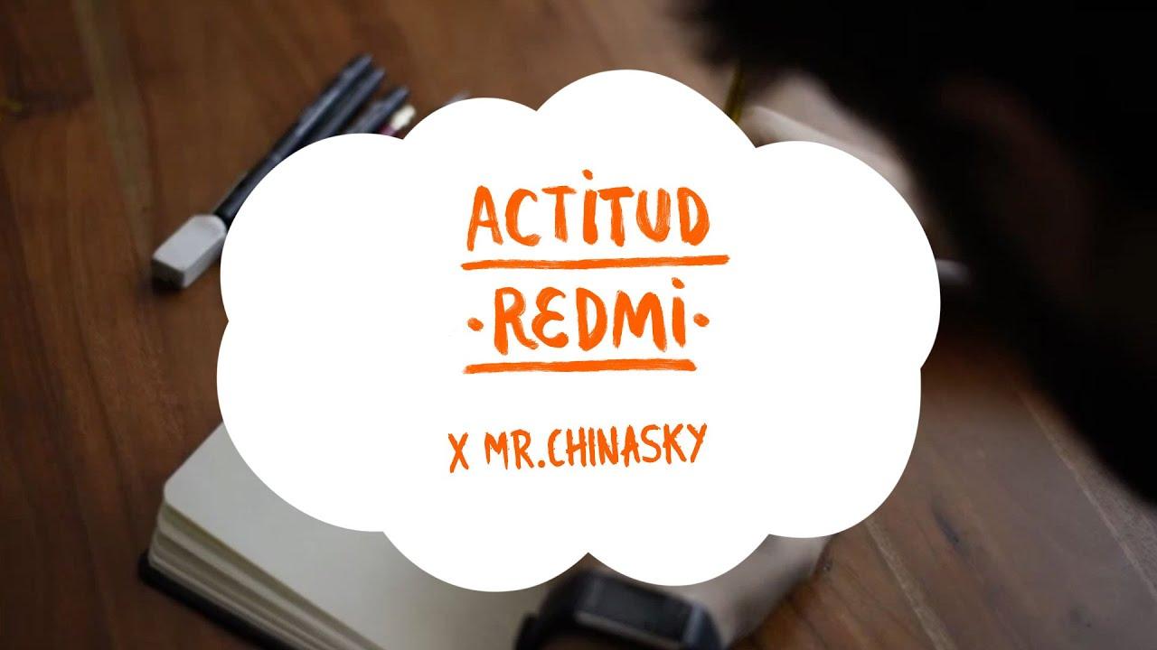#ActitudRedmi | Mr.Chinasky cuenta como creó el fondo de pantalla exclusivo de la #SerieRedmiNote9