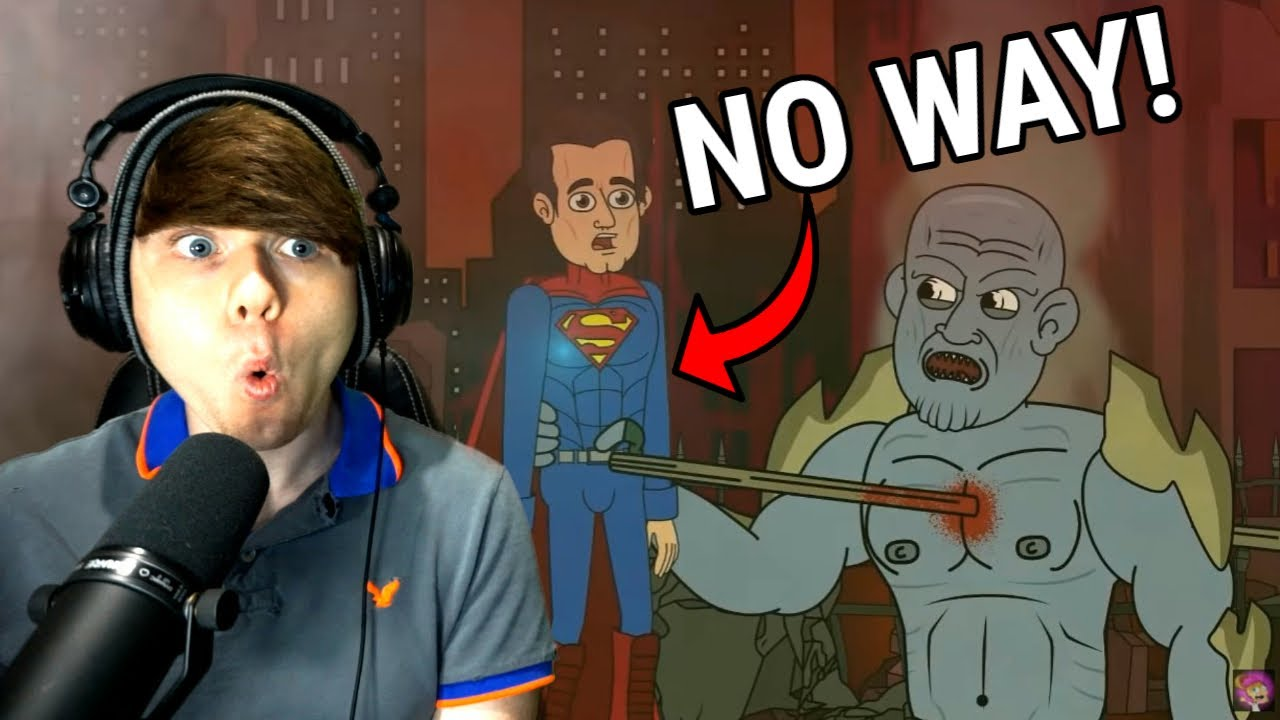♪ JUSTICE LEAGUE THE MUSICAL - Animated Song @LHUGUENY REACTION!