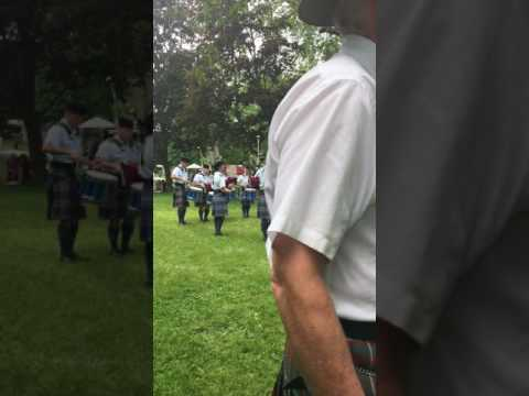 8 Wing Pipes and Drums Cobourg Highland Games 2017