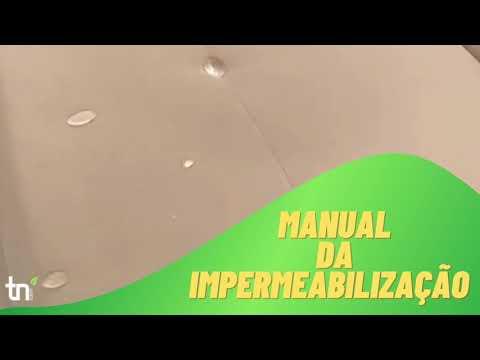 Manual da impermeabilização!