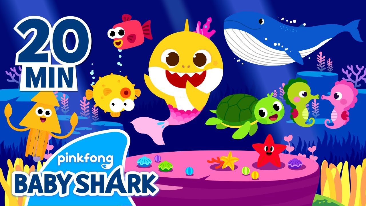 Baby Shark and more   Baby Shark and friends ...