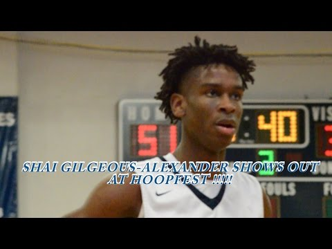 SHAI GILGEOUS-ALEXANDER is the SMOOTHEST GUARD in the COUNTRY