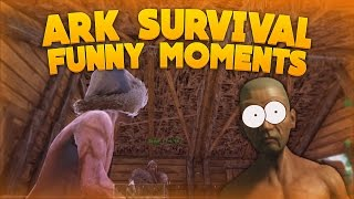 ARK: Survival Evolved Funny Moments! - FIGHTING KING KONG