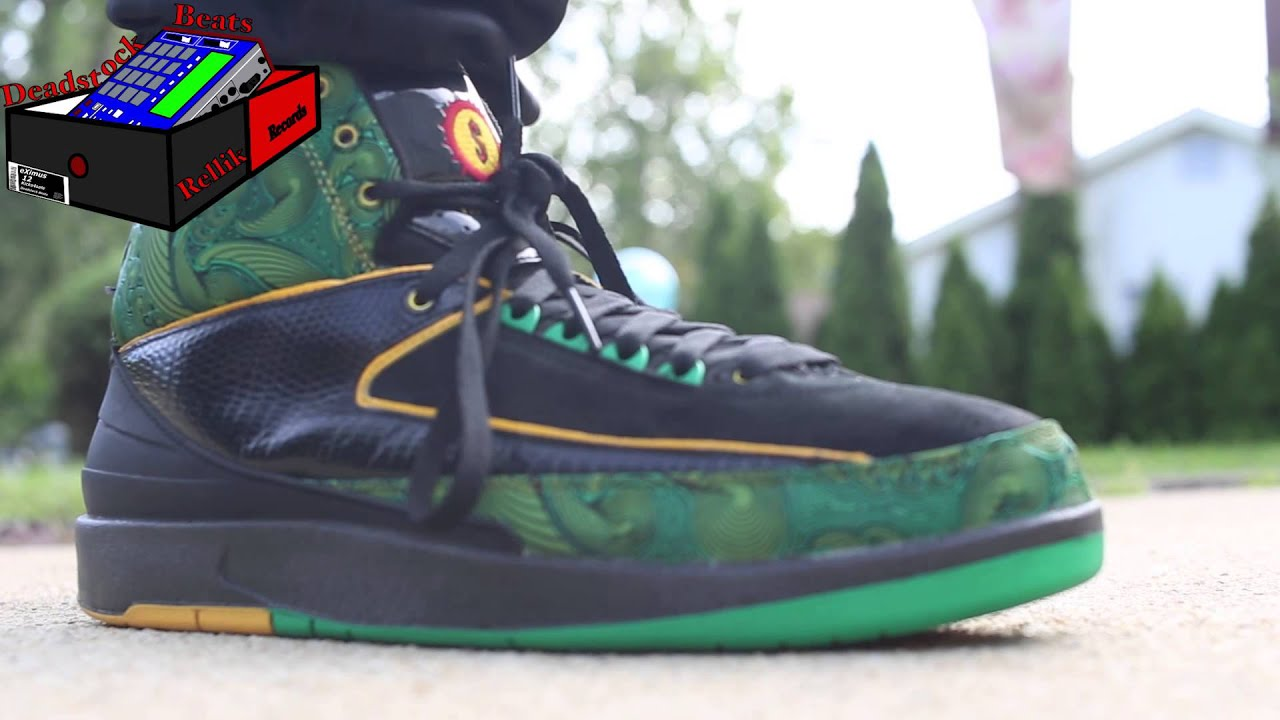 9929c582aebf Jordan 2 Doernbecher DB On Feet (eXimus Beat) - YouTube