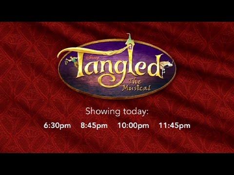 Disney Cruise - Tangled - The Musical (2017)