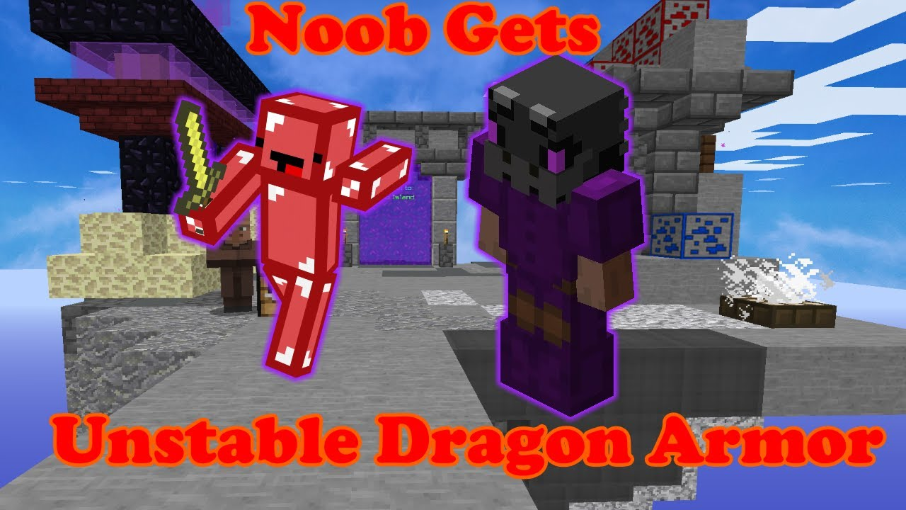 Noob Gets Unstable Dragon Armor In Hypixel Skyblock Youtube Dragon armor or dragon set is a top tier hardmode melee armor / vanity set. youtube