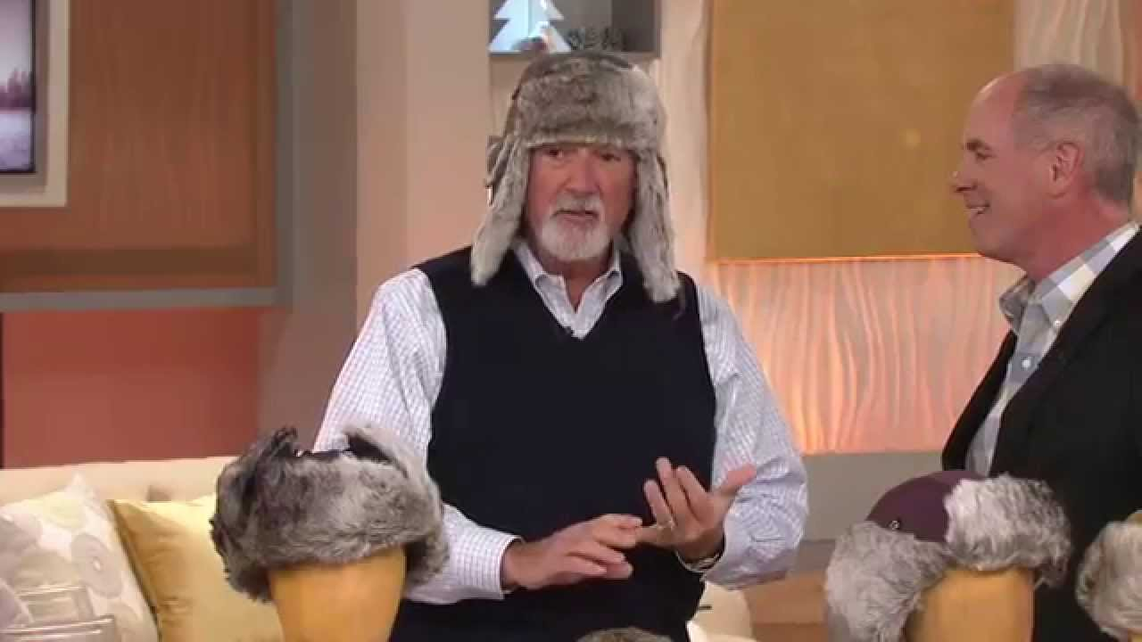 101d0a1b0a9 Trapper Hat with Ear Flaps in Faux Fur Trim with Dan Hughes - YouTube