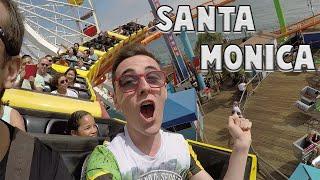 MONTAGNE RUSSE A SANTA MONICA | VLOG LOS ANGELES