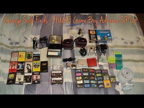 Garage Sale Finds – HUGE Game Boy Advance SP Lot