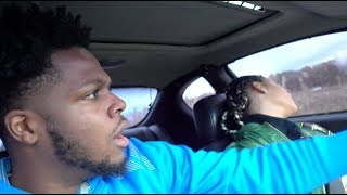 PASSED OUT WHILE DRIVING PRANK ON BOYFRIEND